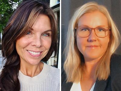 Jenny Kullander och Cecilia Törnborg Myhre
